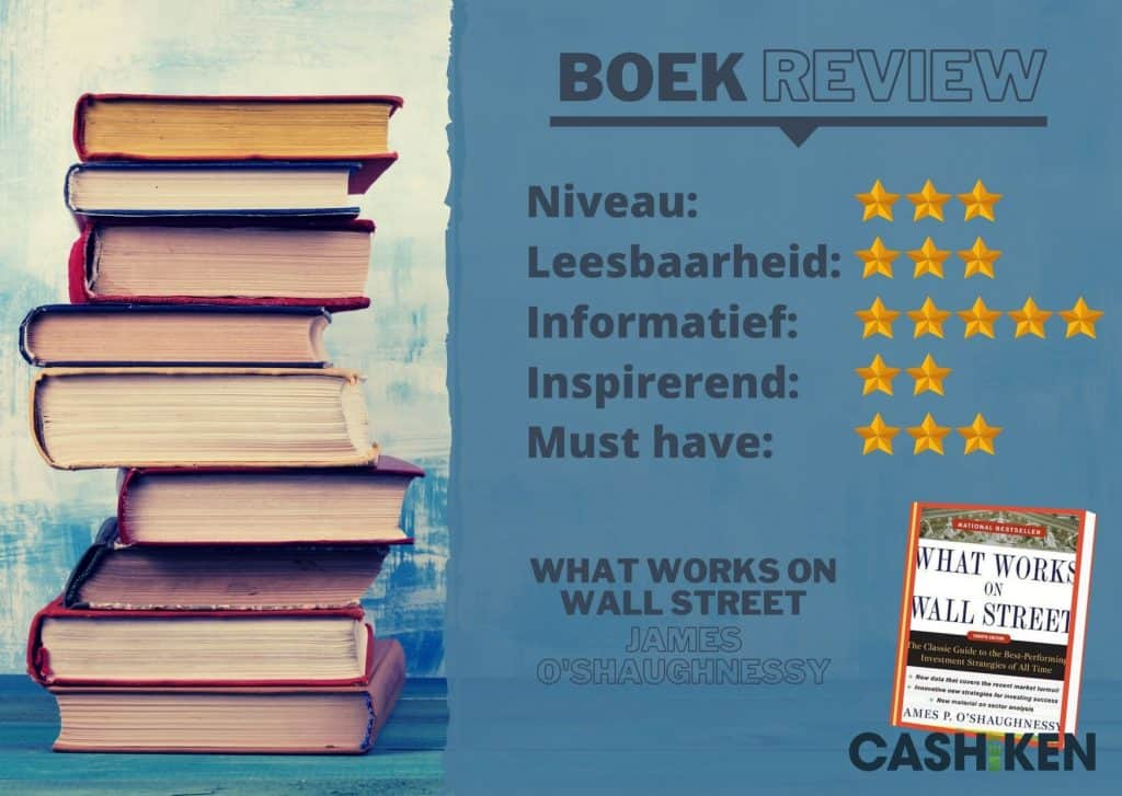 Boekreview review what works on wall street james o'shaughnessy