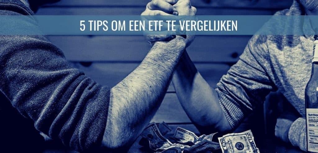 5 tips om een etf te vergelijken