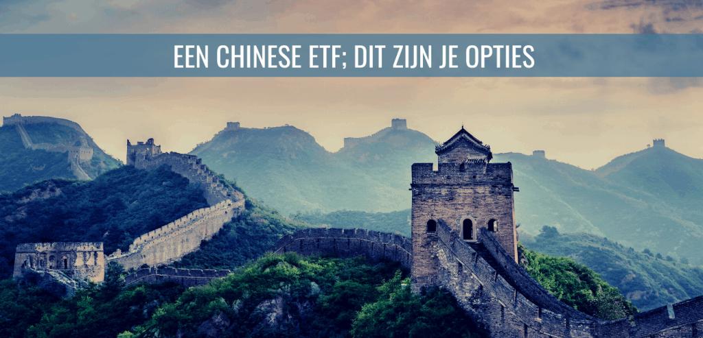 Een Chinese ETF; dit zijn je opties